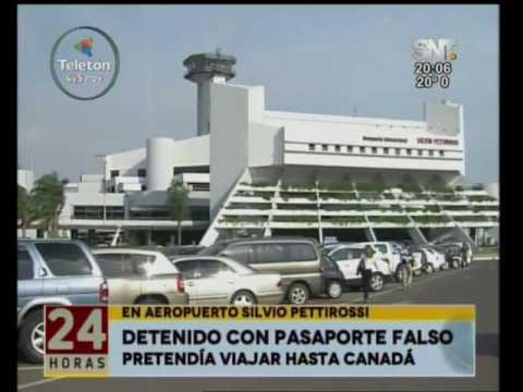 Ciudadano de Surinam en prisión por querer viajar a Canadá con pasaporte falso