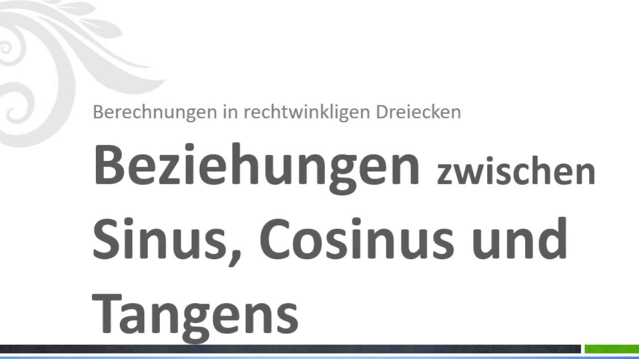Wunderbar Sinus Cosinus Tangens Arbeitsblatt Mit Antworten Fotos ...