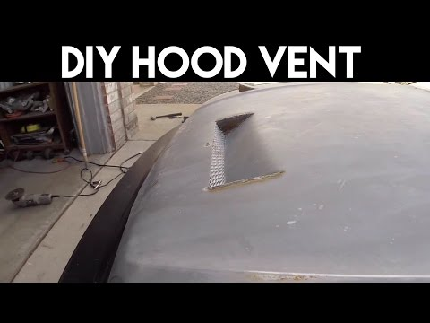 DIY Hood Vent DIY Civic Hatchback