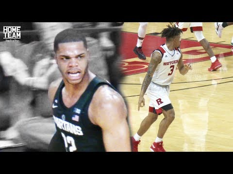 Miles Bridges LIGHTS It Up For Michigan State! Rutgers vs Michigan State Highlights