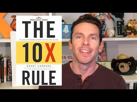 The 10X Rule YouTube Hörbuch Trailer auf Deutsch