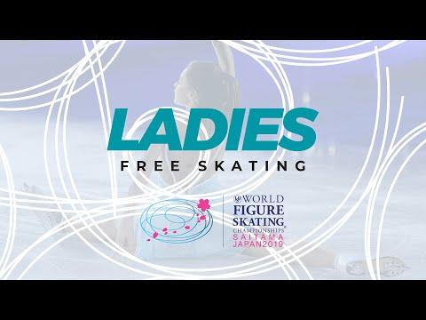 Ladies Free Skating | 2019 ISU World Figure Skating Championships Saitama JPN | #WorldFigure