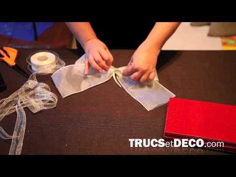 R aliser une housse de boite mouchoirs doovi - Comment mettre une housse de clic clac ...