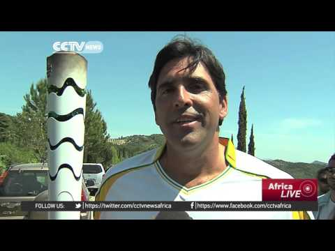 Olympic flame for Rio 2016 lit in Greece