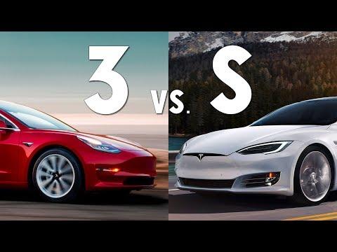 Tesla Model 3 Vs Model S — Choosing Which To Buy & New Vs. Used