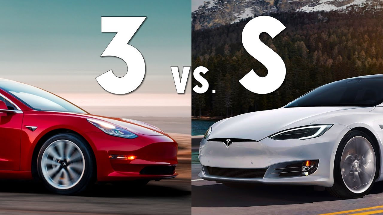tesla model 3 vs model s choosing which to buy new vs used youtube. Black Bedroom Furniture Sets. Home Design Ideas