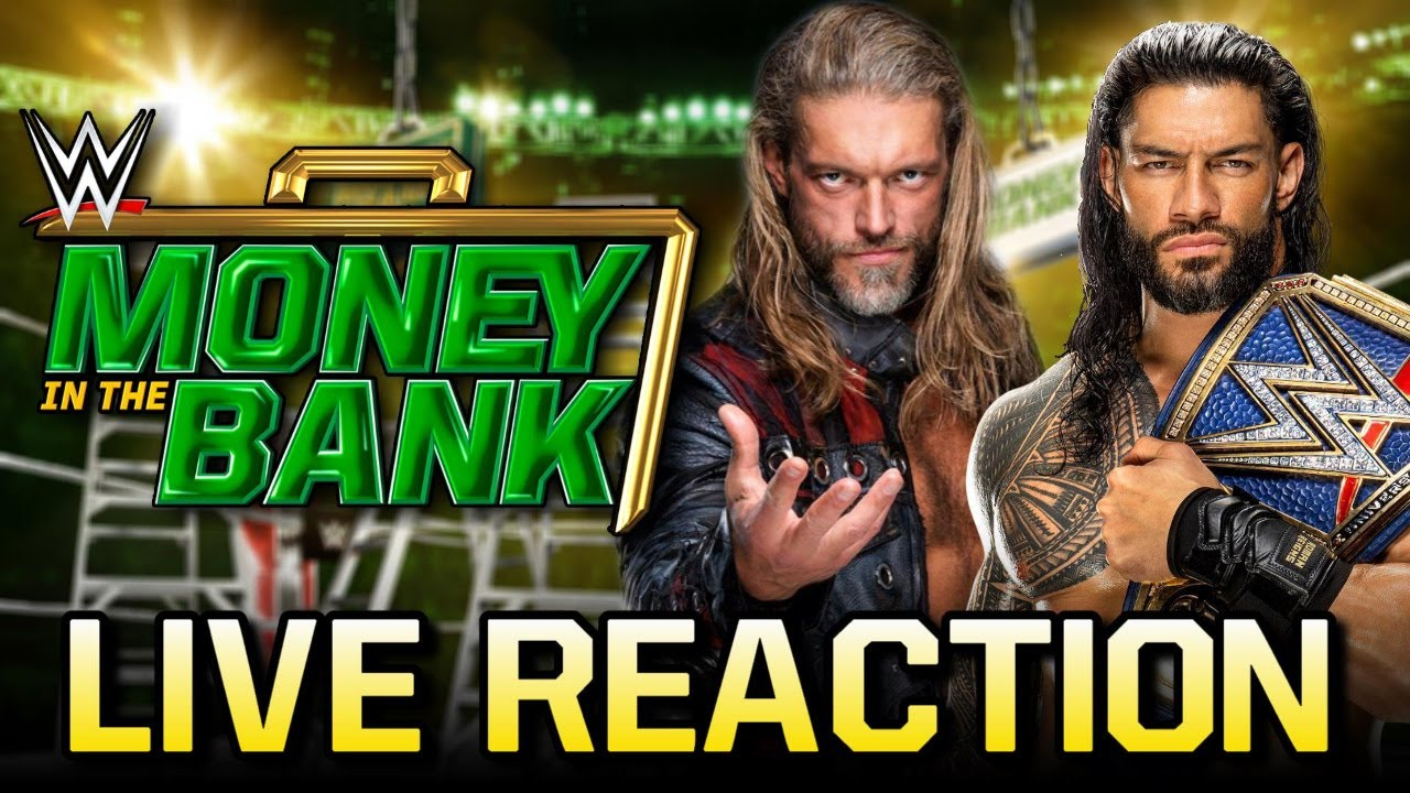 WWE Money in the Bank 2021 LIVE REACTION