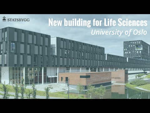 New building for Life Sicences , University of Oslo