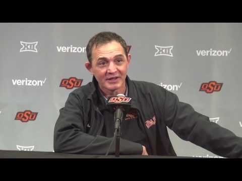 John Smith press conference after defeating Iowa