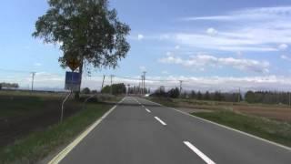 帯広の長閑な道 帯広空港~幸福駅方面2014/5/19