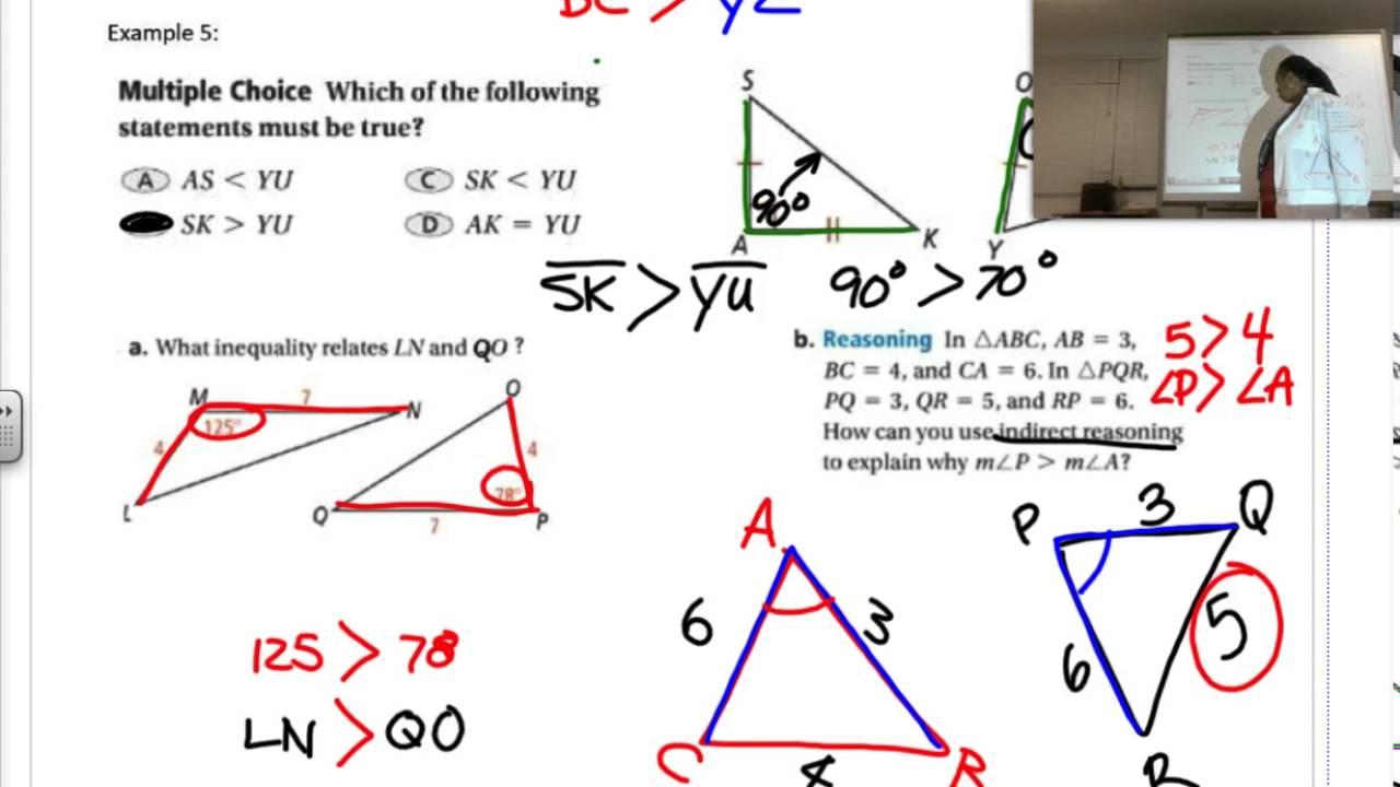 Hinge Theorem - YouTube