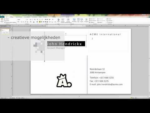 Executive Computer Training - Cursus Microsoft Publisher