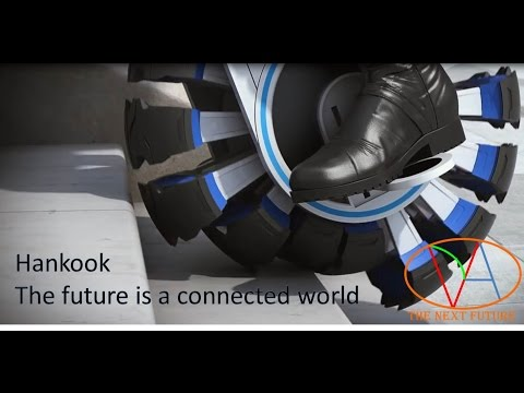 Hankook The future is a connected world