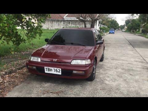 1991 Honda Civic EF Sedan FULL REVIEW