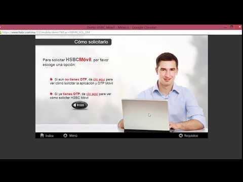 Banca Movil Hsbc En Mexico Facil Youtube