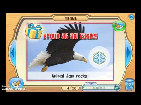 Mailtime With Squeaky!!! Animaljam