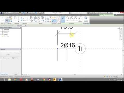 """"""" CREATE A TAG REBAR FOR SECTION BEAM OR FLOOR"""" DEMO"""