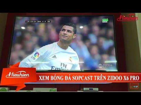 [Hieuhien.vn] Xem bóng đá miễn phí bằng Sopcast trên Zidoo X6 PRO