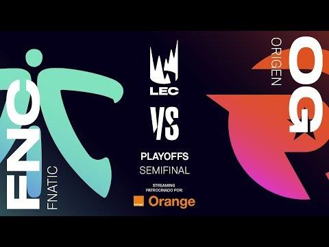 FNATIC VS ORIGEN | MAPA 2 | SEMIFINAL LEC | Spring Split [2019] League of Legends