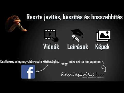 Raszta haj hosszabbítás XIII. - Rasztajavitas.hu