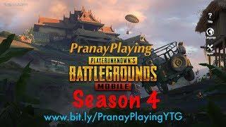 PranayPlaying PUBG Mobile Asia Squad Rank TPP 🇮🇳