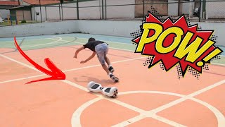 João Pedro andando pela primeira vez de Hoverboard | Tectoy Modelo TBC01 6,5