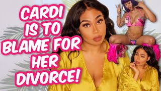 WOMAN GOES VIRAL! SHE CLAIMS CARDI B IS THE REASON FOR HER DIVORCE! MY REACTION+ SO MUCH MORE