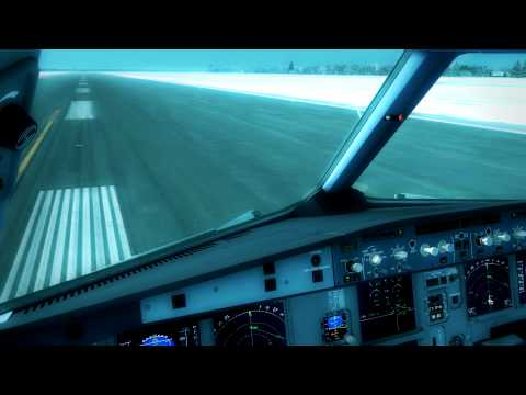 CRAZY 75 KM/H WIND LANDING AT MONTREAL