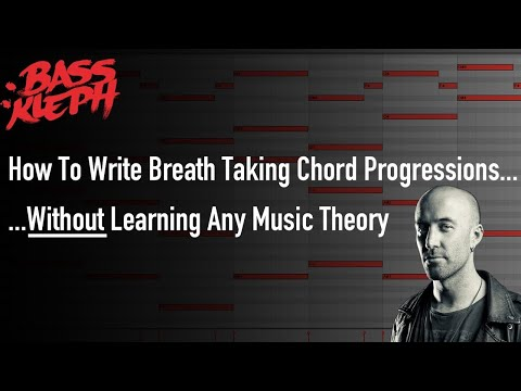 How to write breath taking chord progressions, without any music theory