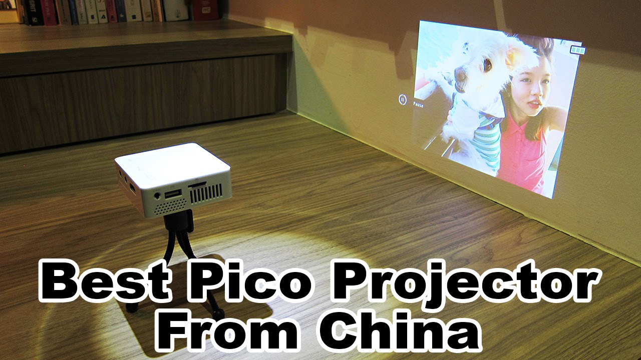 Unic uc50 pico projector neat little toy youtube for Best pico projector 2016
