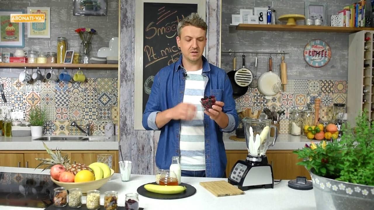 Reteta - Smoothie cu banane pentru micul dejun | Bucataras TV