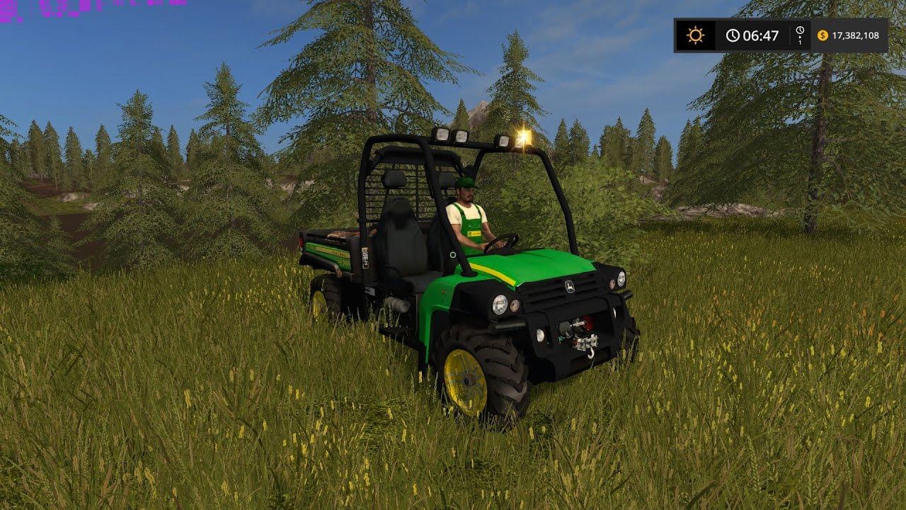 John Deere Gator >> Farming Simulator 17 Gator HPX Diesel Mod - YouTube