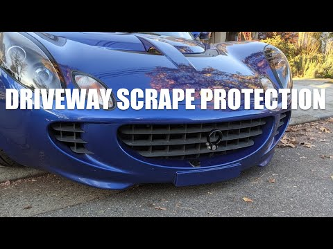 🛡 How to protect a low car from driveway scraping – Lotus Elise