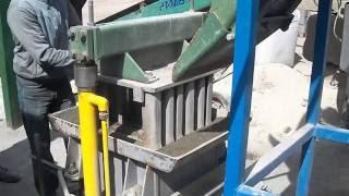 Изготовление стеновых блоков на Кондор-1-300-ТБ в Кокшетау
