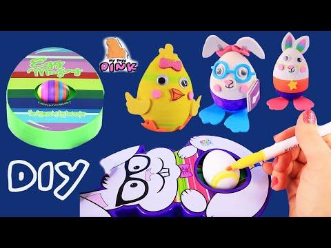 DIY ЯЙЦА НА ПАСХУ! ПРОСТО И БЫСТРО! Easter Eggs Decorator Пасхальные Яйца