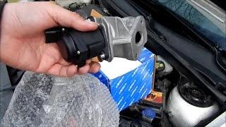 Comment remplacer une vanne EGR avec une Ford Fiesta 1.4 T.D.C.I. (Français)