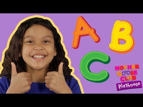 ABC Song  Mother Goose Club Playhouse Kids