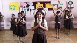 Luka Chuppi - rang de basanthi - School choreography - School theme song
