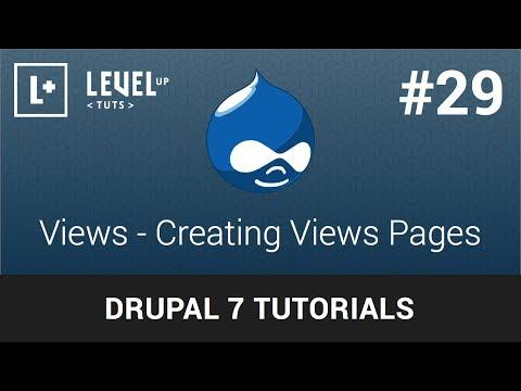 drupal-tutorials-#29---views---creating-views-pages