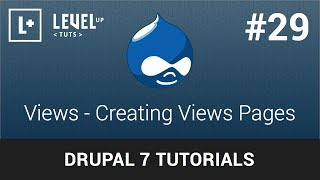 Drupal Tutorials #29 - Views - Creating Views Pages