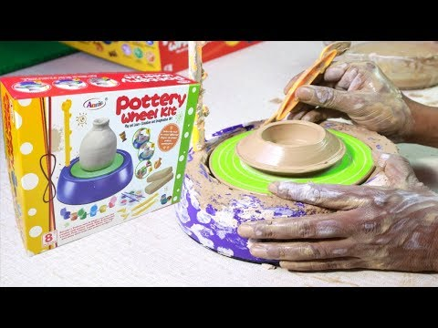 Pottery Wheel kit| Unboxing Pottery Wheel For Parents