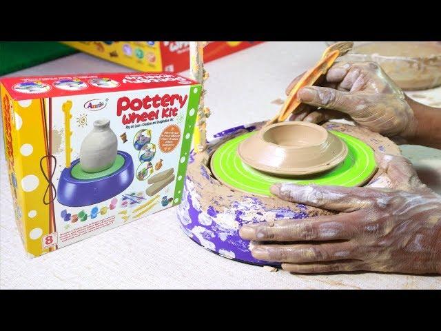 Pottery Wheel kit| Unboxing Pottery Toys