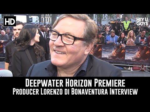 Producer Lorenzo di Bonaventura Premiere Interview - Deepwater Horizon