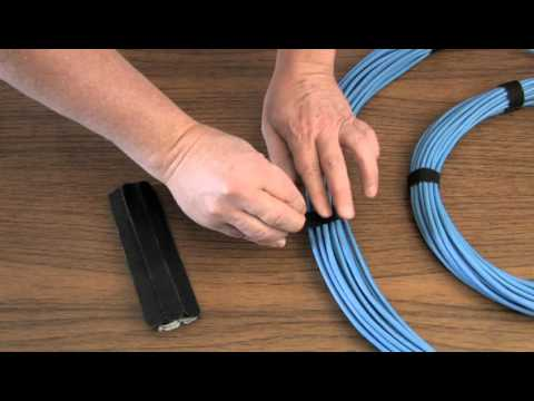 afc210070f95 How to Use Tape-Ty Hook & Loop Cable Ties - YouTube