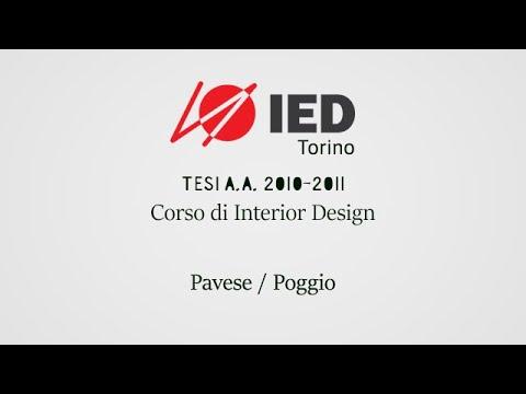 tesi ied torino 2010 2011 corso di interior design pavese