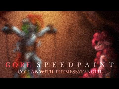[GORE] Cupcakes (Collab) -- MLP Speedpaint