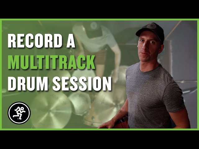Recording a Multitrack Drum Session with Onyx Analog Mixers - Made on Mackie