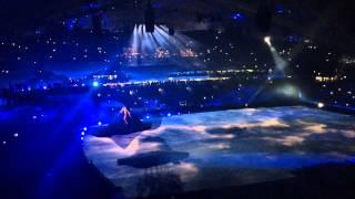 Церемония открытия Сочи 2014 (с трибун)