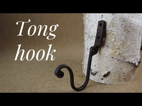 Tong half wall hook - hook of the week 8