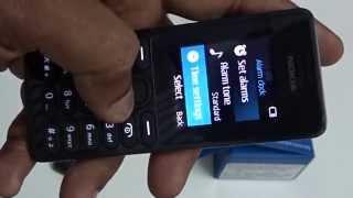 Nokia 108 Dual Sim Mobile Unboxing Video Quick Review
